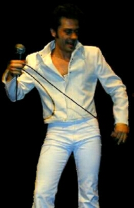 D  A  N  I  E  L        A  L  L  E  V  A  T  O                                        &   su banda      ( the best Elvis Impersonator from Argentina )